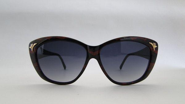Piave 448 Rust/Black Fantasy Sunglasses.Classic rust/black fantasy sunglasses from 80s by Piave. #vintage #vintagefashion #vintageframes #eyeglasses #sunglasses #vintagesunglasses #vintageeyeglasses #piave