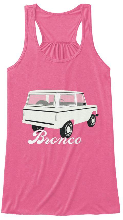 Classic Bronco Truck Women's Tank Top