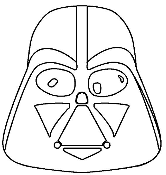 10 Pratique Coloriage Star Wars Facile Pics Coloriage Masque