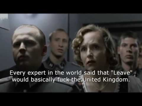 Boris Johnson's Brexit HQ Responds To The EU Referendum Result (Downfall Version)...even more apt now that Boris has announced he won't be standing for the Conservative leadership.