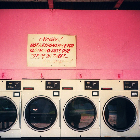 No sh*t happens every other Monday. #dependsonlocation #loveit #laundryinthecity : ]