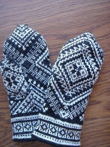 728 best mittens images on Pinterest | Backpacks, Knitting and Books