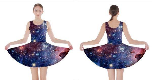 CARINA+NEBULA+Skater+Dresses
