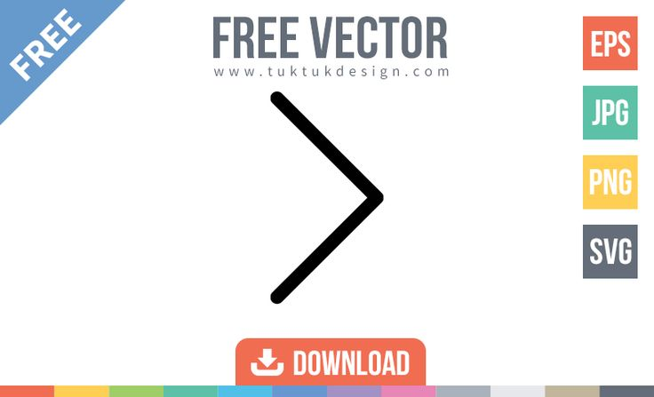 Free Right Arrow Vector Icon Download free Right Arrow, Next, Direction, Symbol in glyph vector illustration icon. File