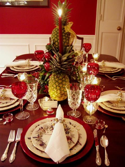 Christmas Table Setting, Lenox, Winter Greetings: The 17th Tablescape Tuesday!