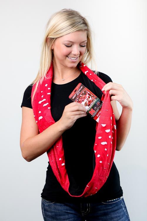 SHOLDIT® Clutch Wrap™ purse, the only patent pending multi-functioning purse that acts like a scarf. Everything you need, right where you need it.