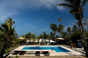 Playa Tranquilo Boutique Hotel on San Andrés Island, The Caribbean - Design by Ghada Dergham  Pool area