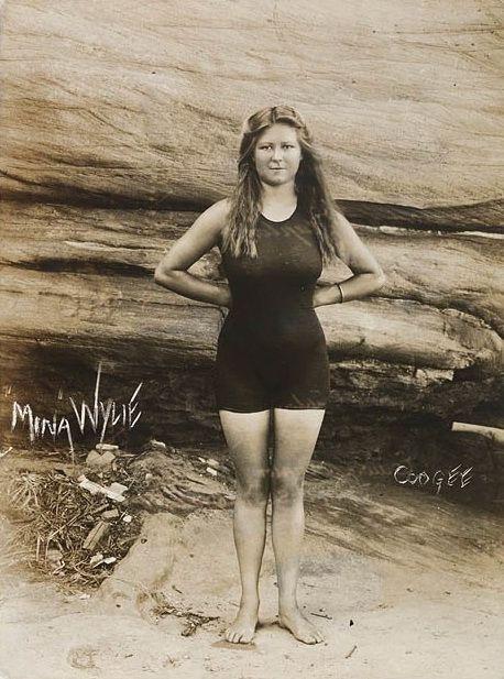 Mina Wylie: Australian Olympic swimmer