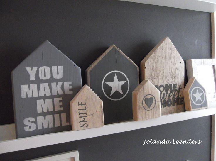 Knutsels van Jolanda Huisjes steigerhout