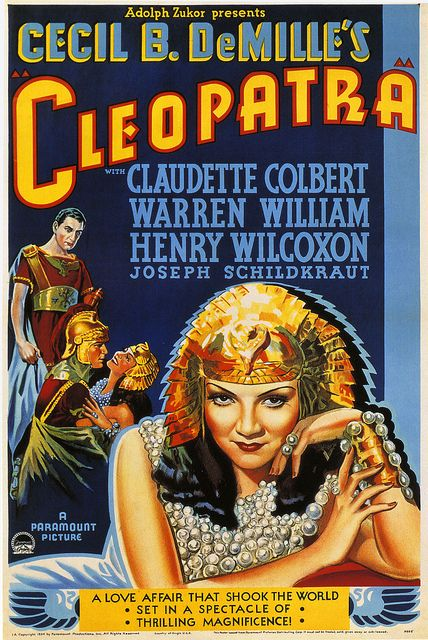 Cecil B. DeMille's Cleopatra, 1934.