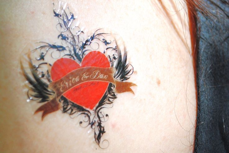 47 best custom temporary tattoos images on pinterest for Temporary tattoos wedding