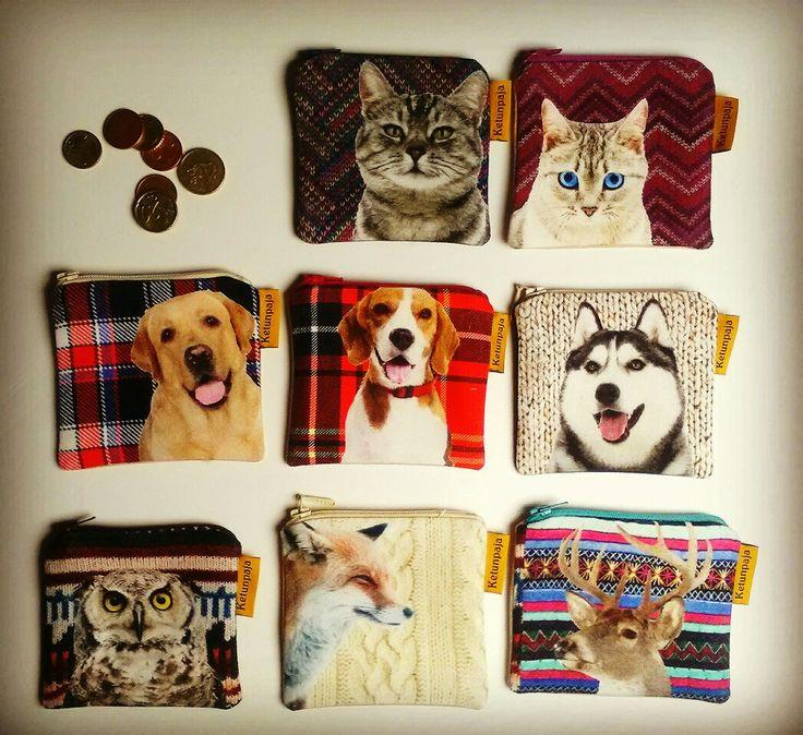 Cute animals -coin purses