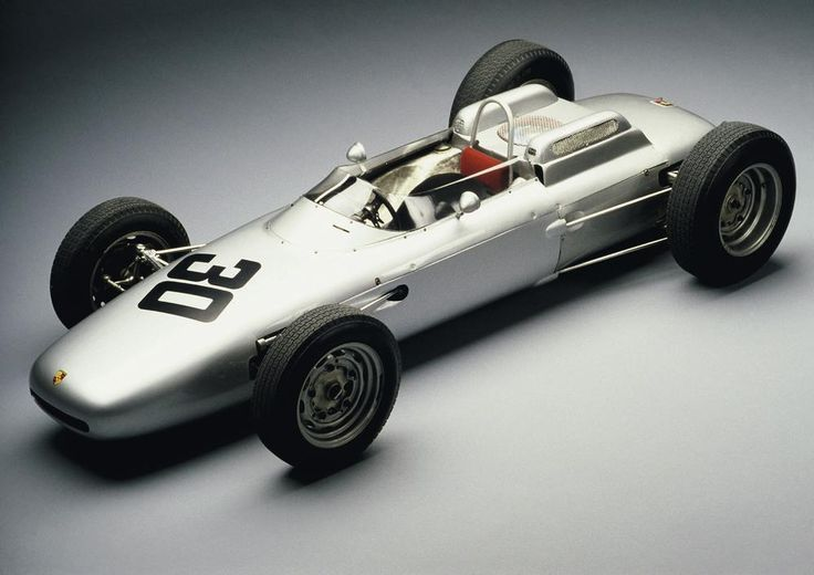 The Porsche 804 Formula One car