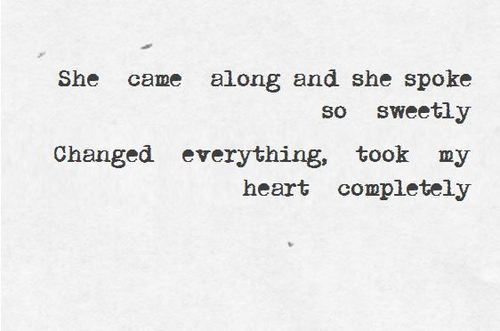 Endlessly by Green River Ordinance is one of most perfect songs and they're one of the most perfect bands