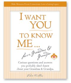 For grandparents anticipating their first grandchild or seasoned grandparents, now is the time to write down the answers to these and many more curious questions so generations to come have the priceless gift of connecting with you.