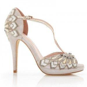 emmy london bridal shoes art deco wedding shoes victoria