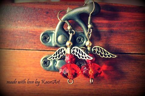 Kolczyki Wróżki  Fairy Earrings