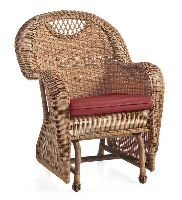 Prospect Hill Outdoor Resin Wicker Furniture Seating Collection. Ooh, there's a dark finish.