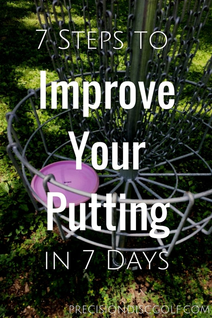 7 Steps to Improve Your Putting in 7 Days