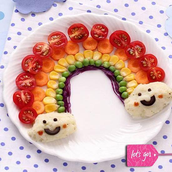 71 best comida divertida para ni os images on pinterest for Comida saludable para ninos