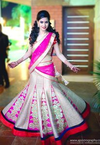 JADE Bride Juhi Mehta ravishing in her JADE Lehenga Ensemble!