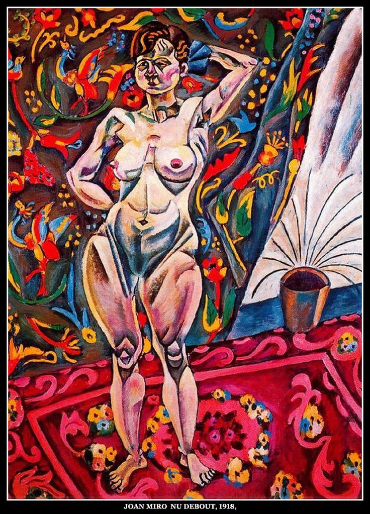 Joan Miró - Nu debout (1918)