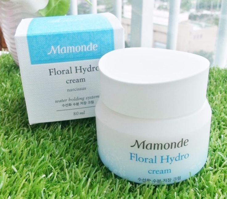 Mamonde Floral Hydro Cream Narcissus Moist Storage Cream 80ml #Mamonde