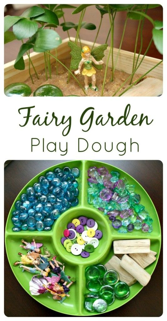"This is so lovely and fun! Fairy garden for imaginative play.  Brought to you by BlogHer and Disney's ""The Pirate Fairy"", an All-New Tinker Bell Movie on Blu-Ray and Digital HD April 1."