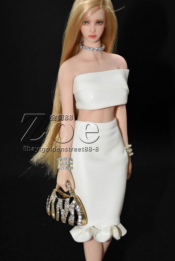 1//6 TBLeague phicen short skirt FOR  jiaoudoll hot toys NO STAIN