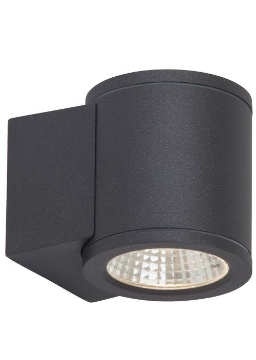 AEG ARGO LED Wandleuchte Lotuseffekt Ø 8 cm Anthrazit 1-Flammig AEG280007 | LED-Lampenladen.de