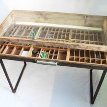 Recreate Printers Tray Dressing Table