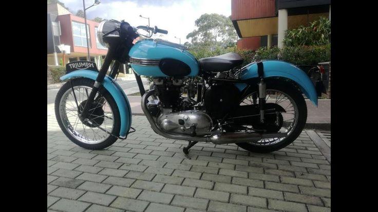 Moto Triumph Boneville 650 Modelo 1955 venta motos clasicas medellin PRE...