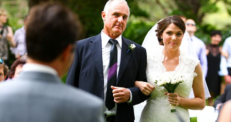 Bride and Father walking down the aisle - love these shots!