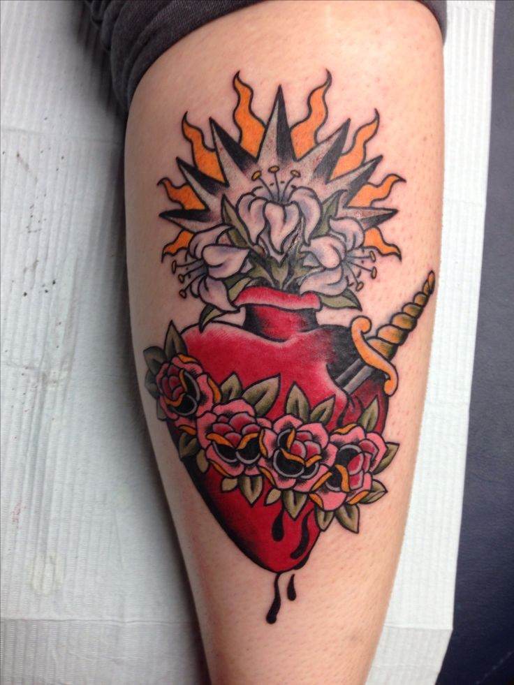 Immaculate heart by Shannon Reed #tattoo   tattoos ...