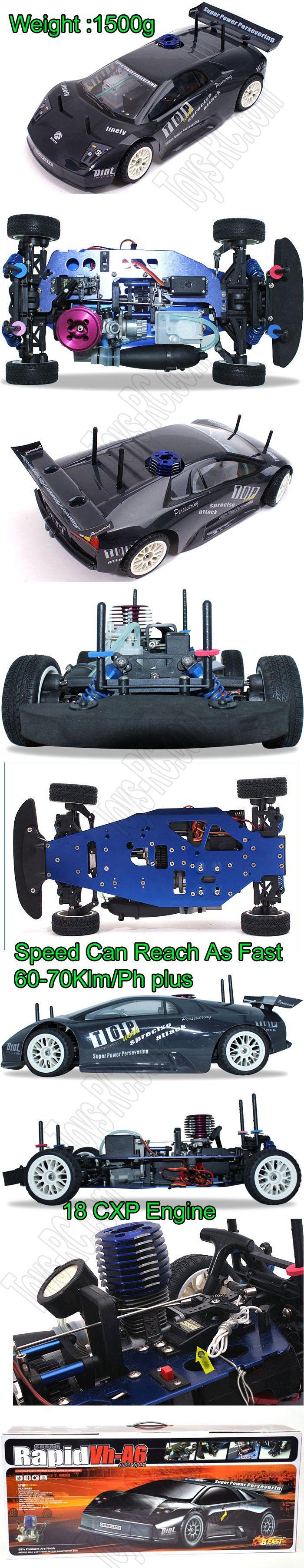 Victory hawk 4wd speed rapid vh a6 rc nitro gas car http