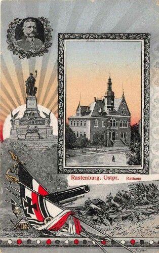 Townhall, Rastenburg, East Prussia