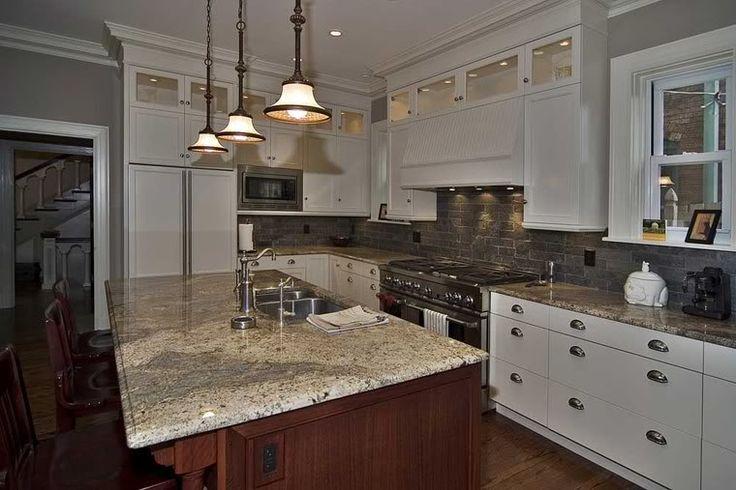 56 best images about kitchen on pinterest islands for Brushed sage kitchen cabinets