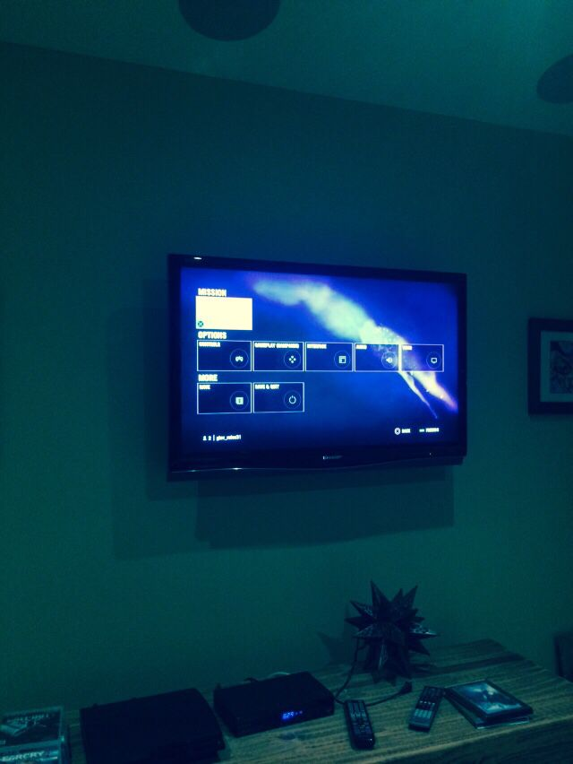 My gaming TV