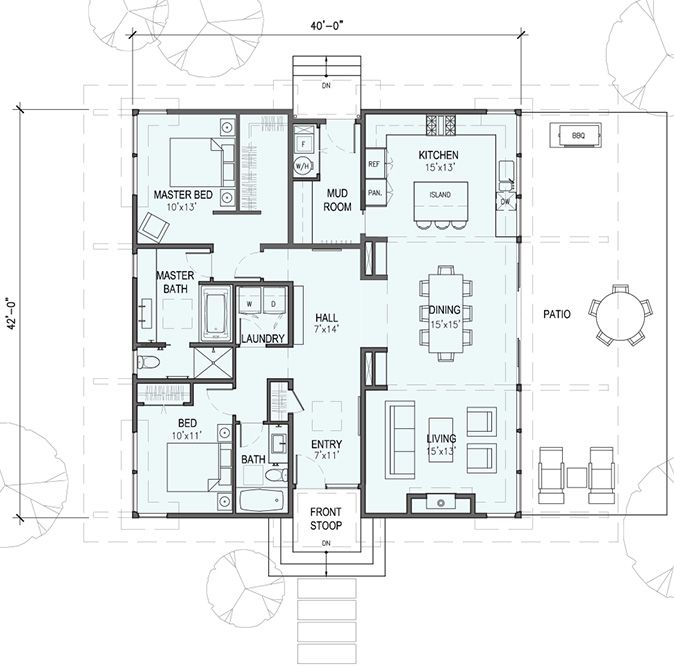 73 best small houses images on pinterest small houses for Detailed house plans
