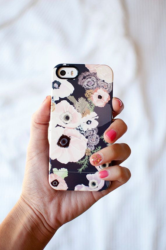 UNE FEMME floral iPhone 7/7 Plus, iPhone 6/6S, iPhone 6/6S Plus, iPhone 5/5s case, Samsung Galaxy S6