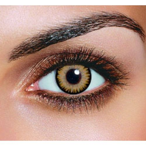 Color Contacts for Brown Eyes | Dual Color Brown Contact Lenses (Pair)..: