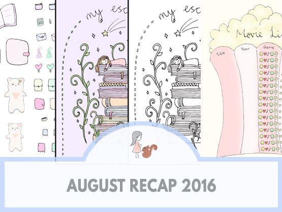 August Recap 2016 | www.sweetestchelle.com