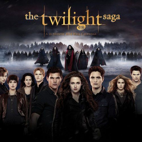 Although the Twilight Saga is officially over, the merchandise surrounding the films is definitely not! A 2014 Twilight Saga Calendar is now available to pre-order, which contains images and stills...