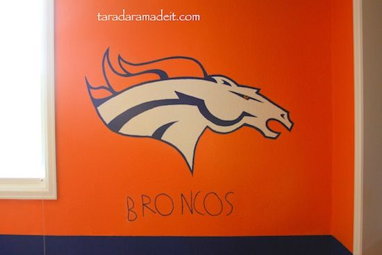 17 best images about matthew and michael bedroom ideas on for Denver broncos bedroom ideas