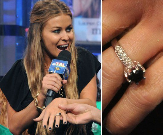 Pin for Later: The Very Best Celebrity Engagement Rings Carmen Electra