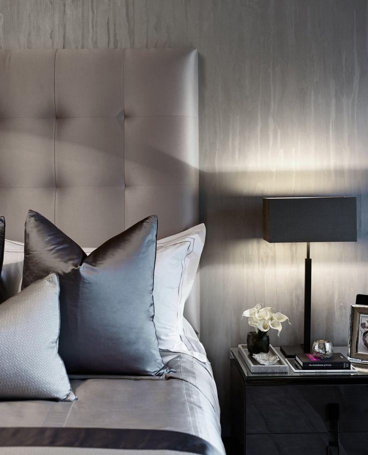 Simple Bedroom Lighting Design Pics Of Bedroom Colors Curtains For Boy Bedroom Light Grey Blue Bedroom: 25+ Best Ideas About Grey Upholstered Headboards On Pinterest