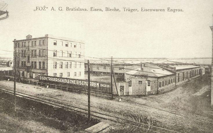 Račianska ulica. Neskôr tam bola Ferona. Vpravo Škultétyho ulica v smere k neskôr postavenému nadchodu.