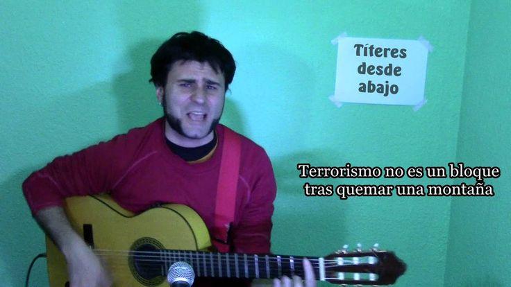 #Terrorismo Terroristas son… Titiriteros (España): Mi humilde aportación: Libertad Titiriteros