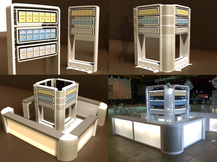 Exhibitions - Promotional Stands by Germaner Product Design / G.U.T. at Coroflot.com