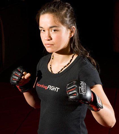 Women's MMA legend Rosi Sexton @Nextsportstar